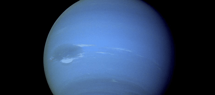 How far is Neptune from Earth