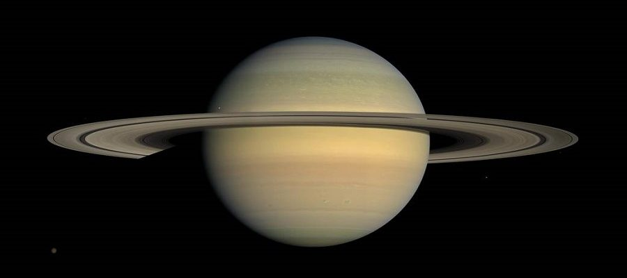How far is Saturn from Earth