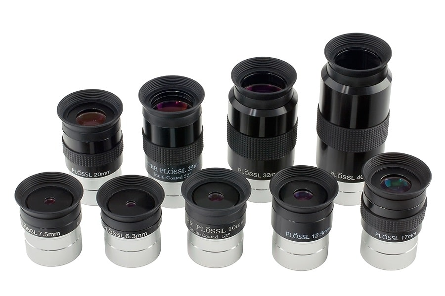 Oumij 1.25 25mmTelescope Accessories Set Fully Multi-Coated Eyepiece Metal Body for Astronomy Telescope Zoom Eyepiece