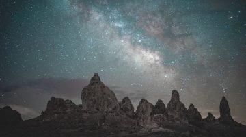 Stargazing in Death Valley