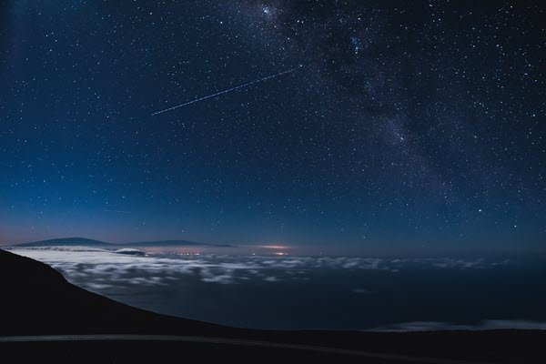 Stargazing in Maui