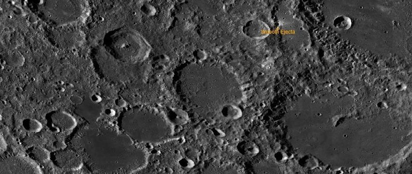 Moon Crater - Aitken Basin