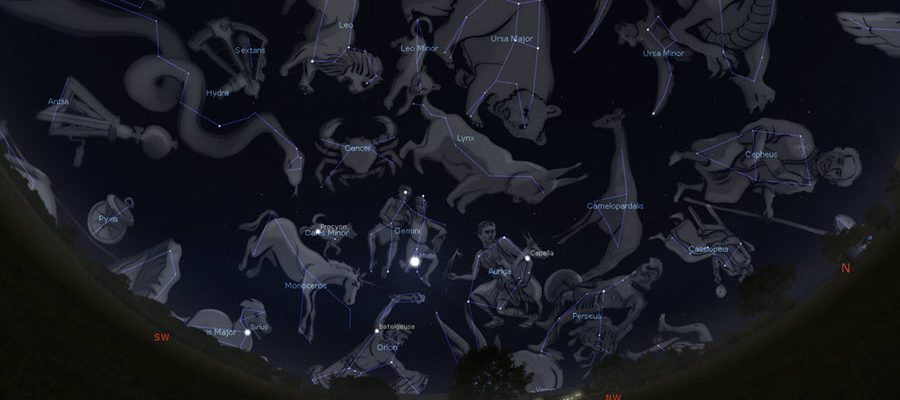STAR CONSTELLATIONS: AN ILLUSTRATED GUIDE TO THE STARS
