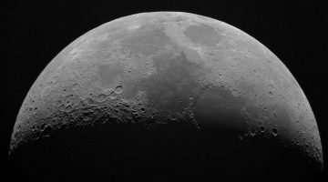 How Many Craters Are On The Moon