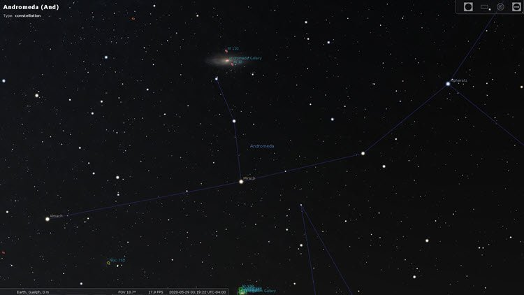 Star Constellations: Andromeda
