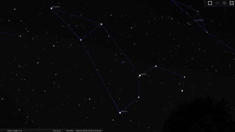 Star Constellations: Leo