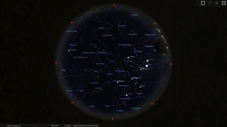 Star Constellations - Northern Hemisphere