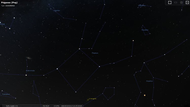Star Constellations: Pegasus